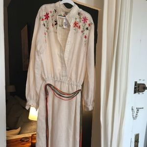 Vintage 1970's floral dress